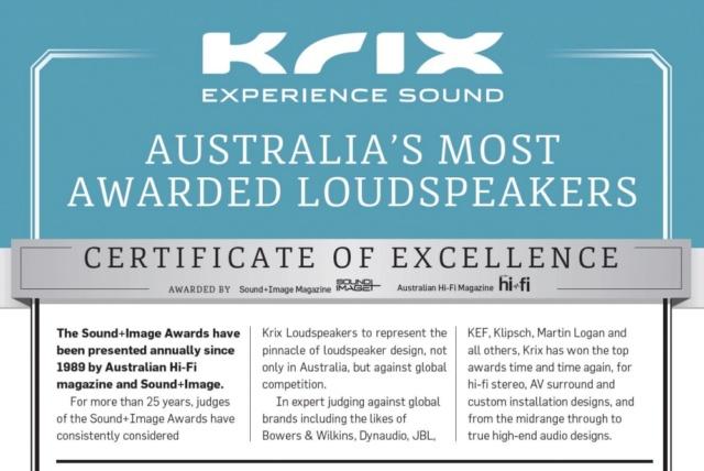 Krix Neuphonix MK1 Floorstanding Speakers Made in Australia Es_kri13