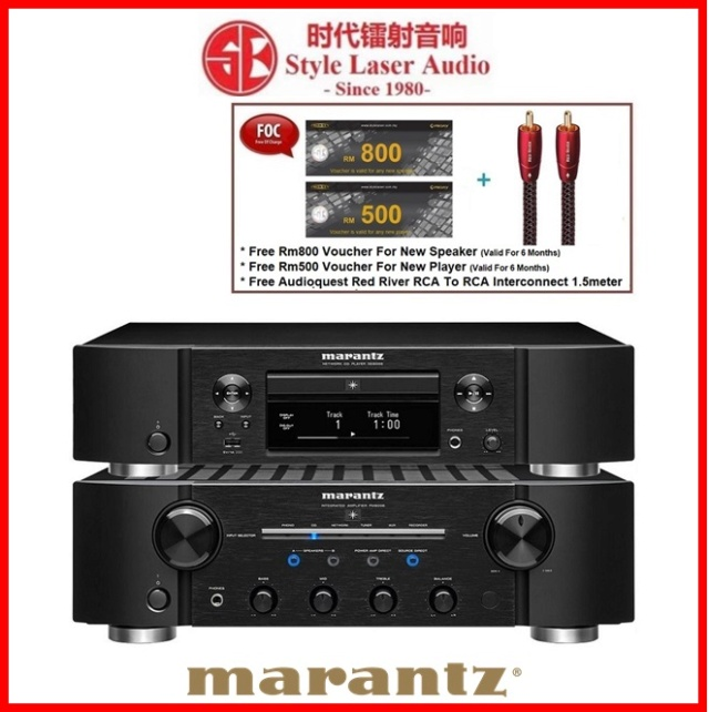 Marantz PM8006 Integrated Amplifier & ND8006 Network Music /CD Player Made In Japan Es_ma106