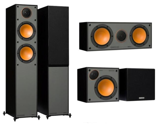 Monitor Audio Monitor 200 5.0 Speaker Package Es_mon76