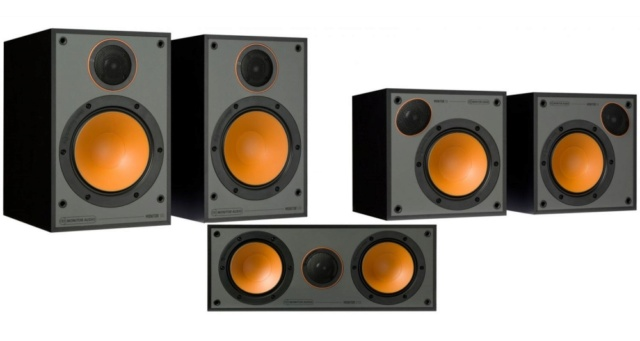 Monitor Audio Monitor 100 5.0 Speaker Package Es_mon80