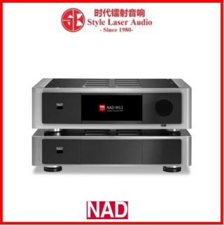 NAD M12 + NAD M22 V2 Pre and Power Amplifier Es_nad27