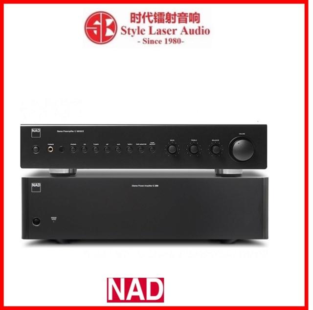NAD C 165BEE + NAD C 298 Pre and Power Amplifier Package Es_nad43