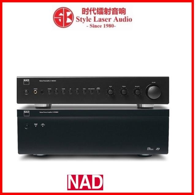 NAD C 165BEE + C 275BEE Pre and Power Amplifier Package Es_nad49