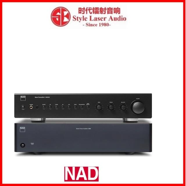 NAD C 165BEE + C 268 Pre and Power Amplifier Package Es_nad55