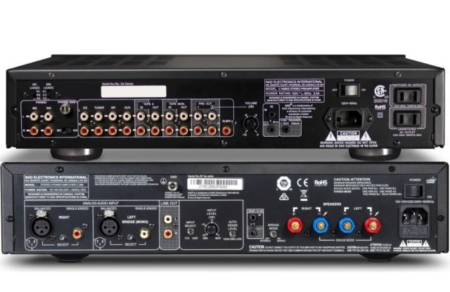NAD C 165BEE + C 268 Pre and Power Amplifier Package Es_nad56