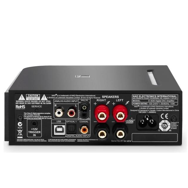 NAD D 3020 V2 Hybrid Digital DAC Amplifier Es_nad75