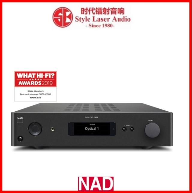 NAD C 658 BluOS Streaming DAC Es_nad76