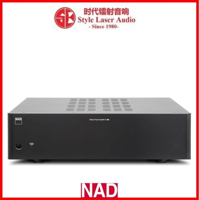 NAD C 298 Stereo Power Amplifier Es_nad85
