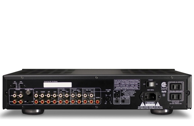 NAD C 165BEE Stereo Preamplifier Es_nad94