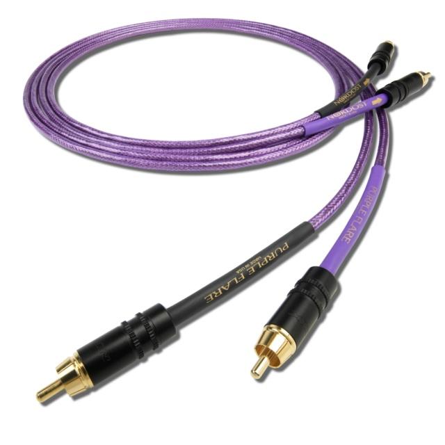 Nordost Purple Flare 1m Interconnect Made In USA (Sold Out) Es_nor10