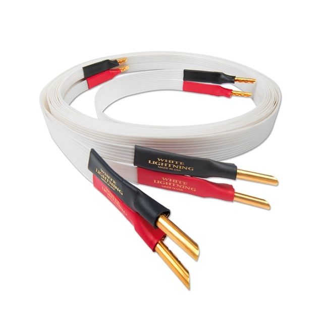 Nordost White Lightning 2.5m Speaker Cable Made In USA (Sold Out) Es_nor16