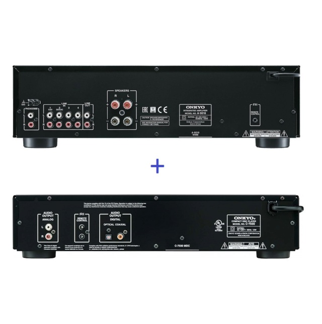 Onkyo A-9010 Integrated Amplifier + Onkyo C-7030 CD Player Es_onk30