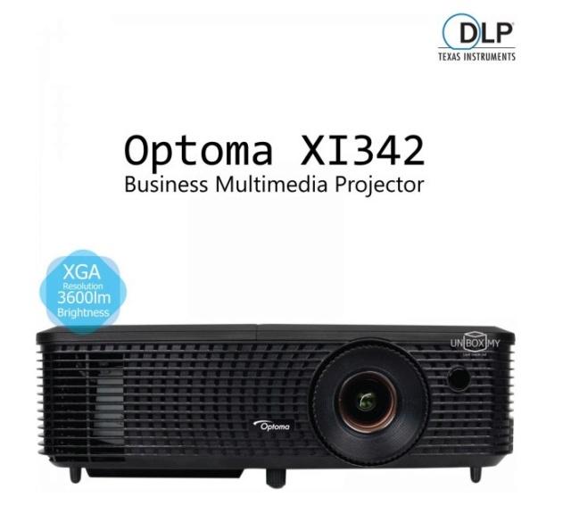 Optoma XI342 DLP XGA Projector Es_opt10