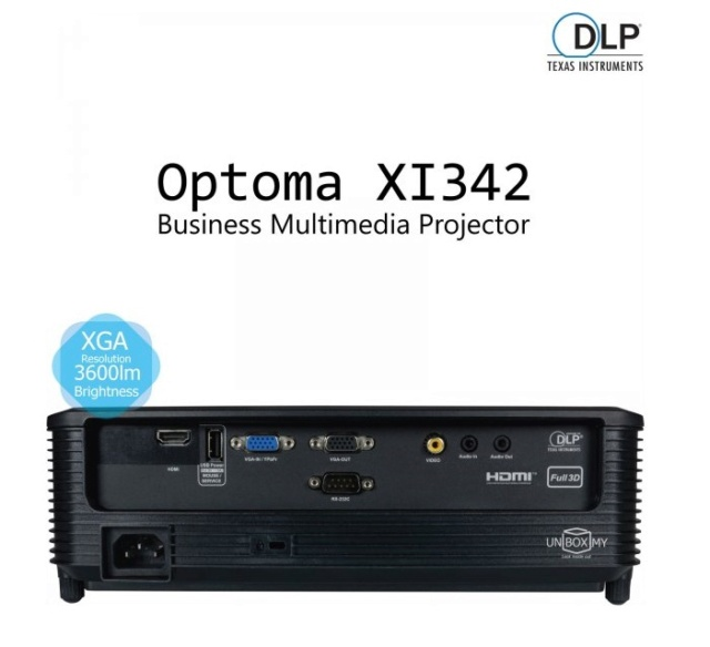 Optoma XI342 DLP XGA Projector Es_opt11