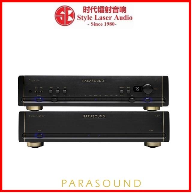 Parasound Halo P6 Preamplifier & Parasound Halo A23+ Power Amplifier Es_par24