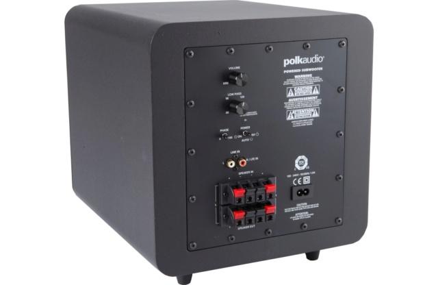 Polk Audio PSW 111 8-Inch 300 Watt Compact Powered Subwoofer Es_pol14