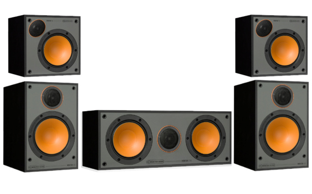 Monitor Audio Monitor 100 5.0 Speaker Package Es_pro10