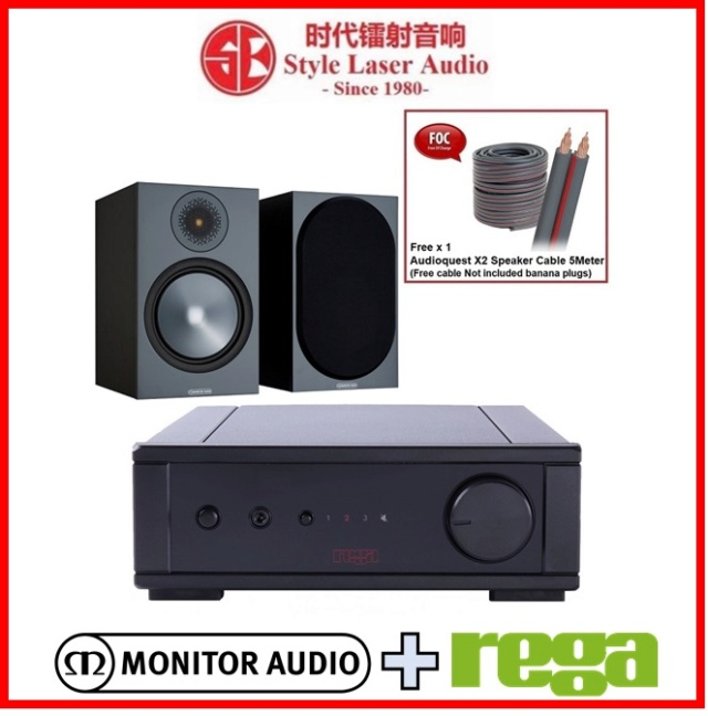Rega io + Monitor Audio Bronze 100 6G Hi-Fi System Package Es_reg34