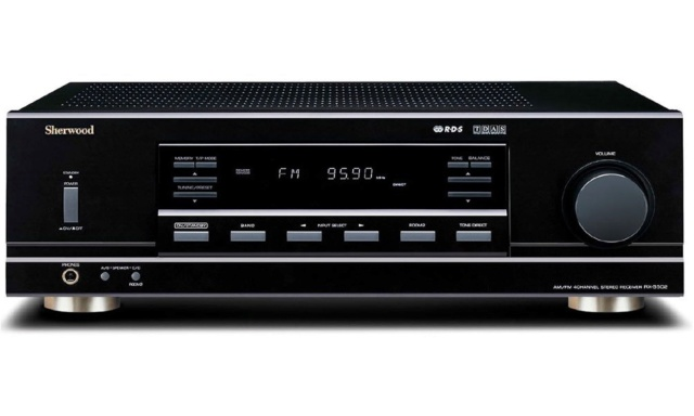 Sherwood RX5502 4Ch Receiver With FM Tuner (Sold Out) Es_she13