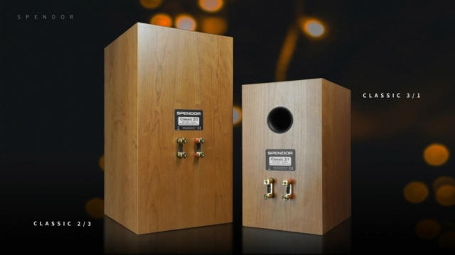 Spendor Classic 3/1 Bookshelf Speaker Made In UK Es_spe14