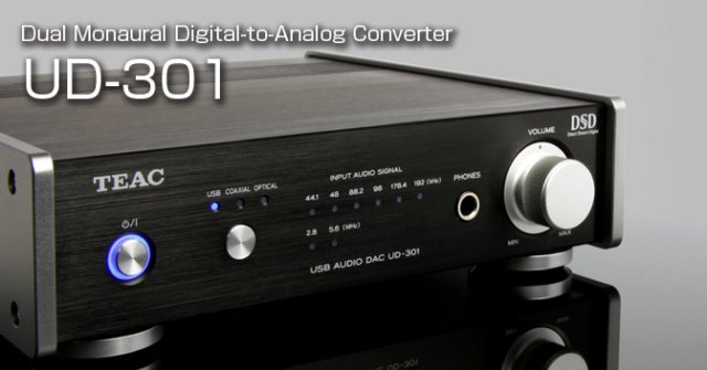 TEAC UD-301 D/A Converter with USB Streaming Es_tea18