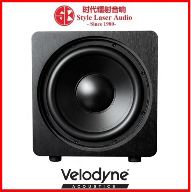 "Velodyne DB12 12"" Sealed Box Powered Subwoofer Es_vel17"