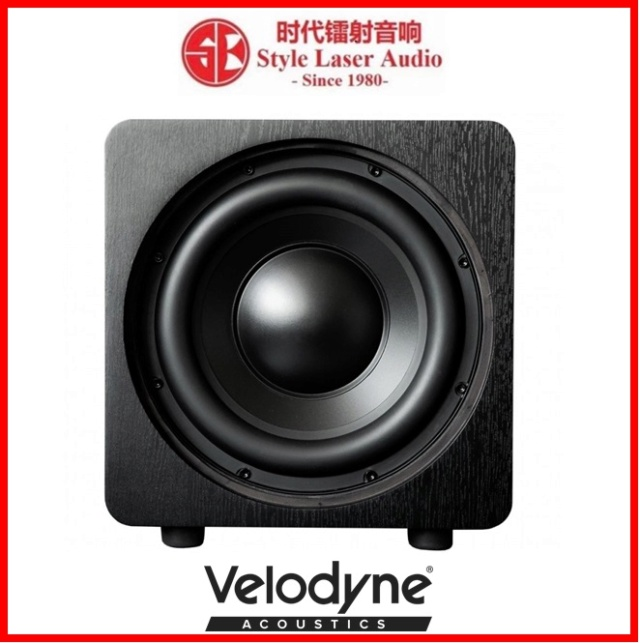 "Velodyne DB10 10"" Sealed Box Powered Subwoofer Es_vel21"