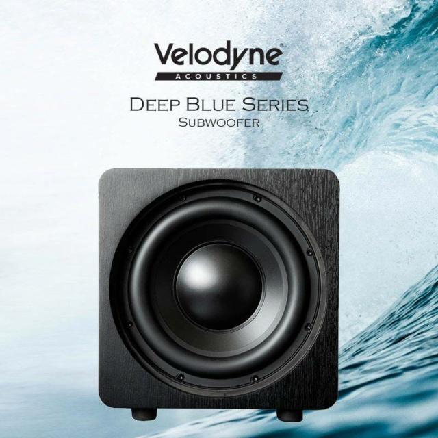 "Velodyne DB10 10"" Sealed Box Powered Subwoofer Es_vel24"