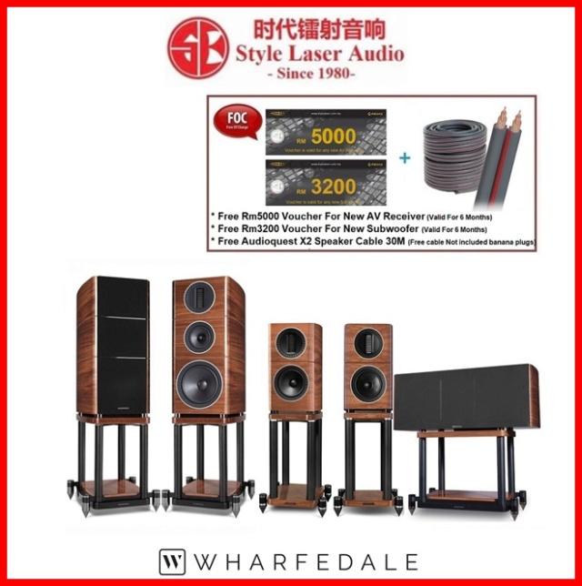 Wharfedale Elysian 2+Elysian C+Elysian 1 Speaker Package Es_wh115