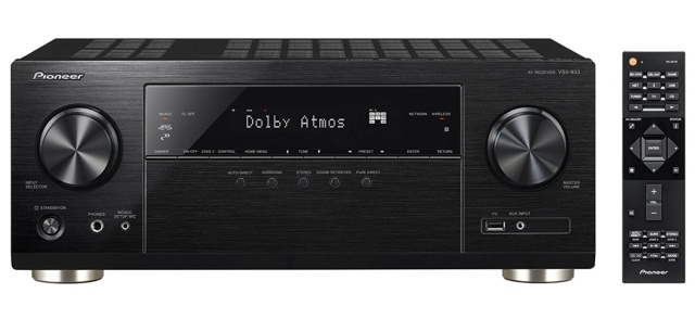 Pioneer VSX-933 7.2Ch Atmos Network AV Receiver (Sold Out) S-rs7710