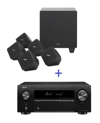 Denon AVR-X250BT 5.1Ch Satellite Home Theater System Thumb_23
