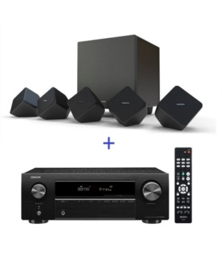 Denon AVR-X250BT 5.1Ch Satellite Home Theater System Thumb_24