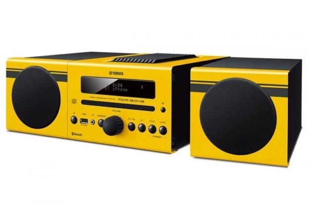 Yamaha MCR-B043 Micro Component System Yellow11