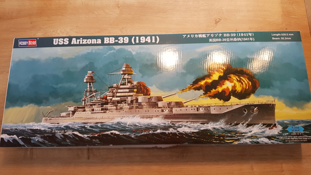 USS Arizona BB39 (cuirassé classe Pennsylvania) 1/350 20180411