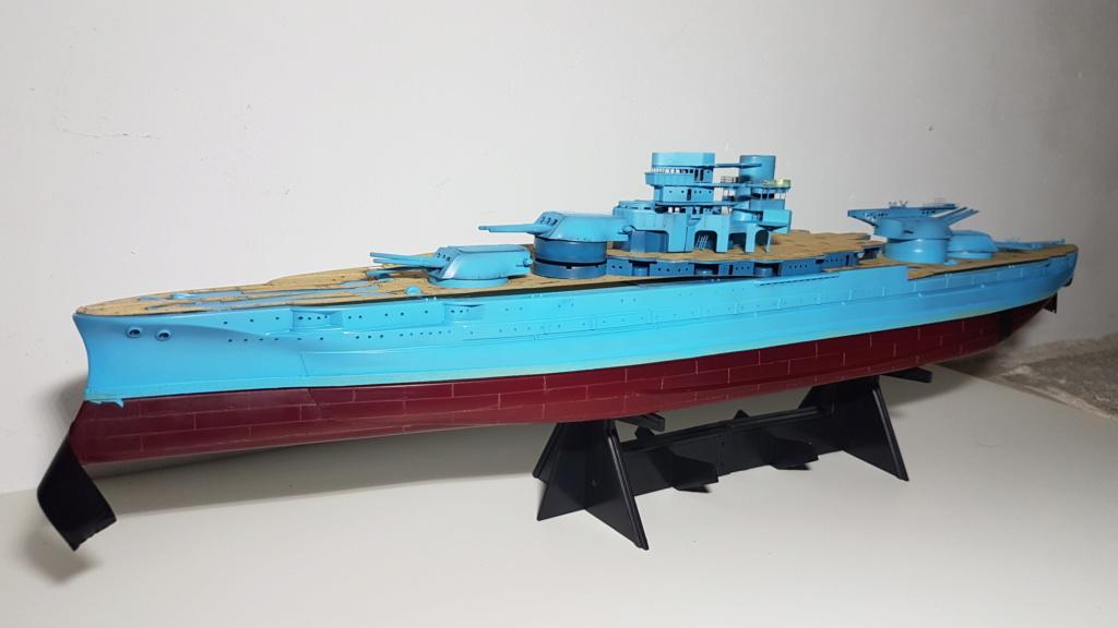 USS Arizona BB39 (cuirassé classe Pennsylvania) 1/350 - Page 2 20180812