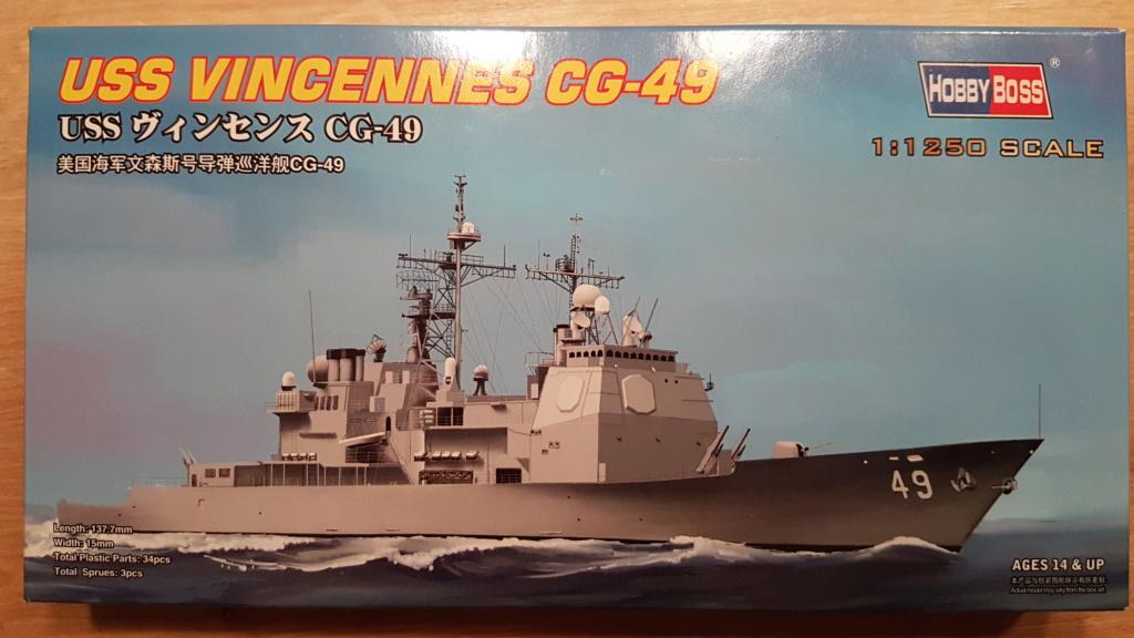 USS Vincennes CG 49 (croiseur classe Ticonderoga) 1/1250 20181114