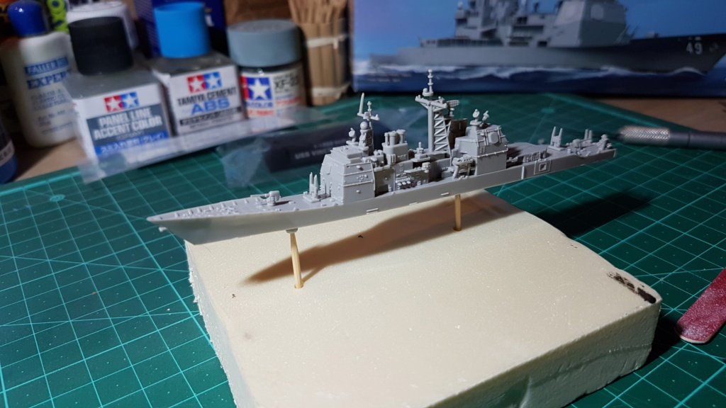 USS Vincennes CG 49 (croiseur classe Ticonderoga) 1/1250 20181118