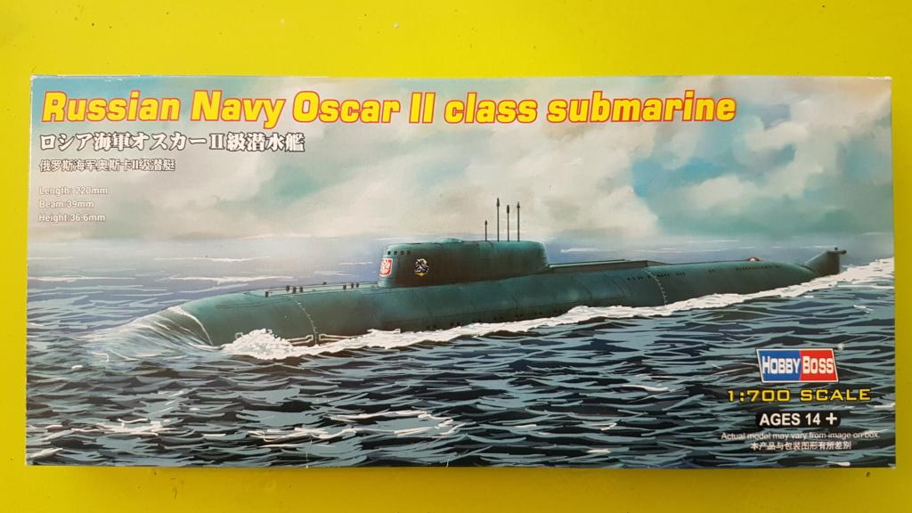 K141 Kursk - Classe Oscar II SSGN (1/700) 20190110