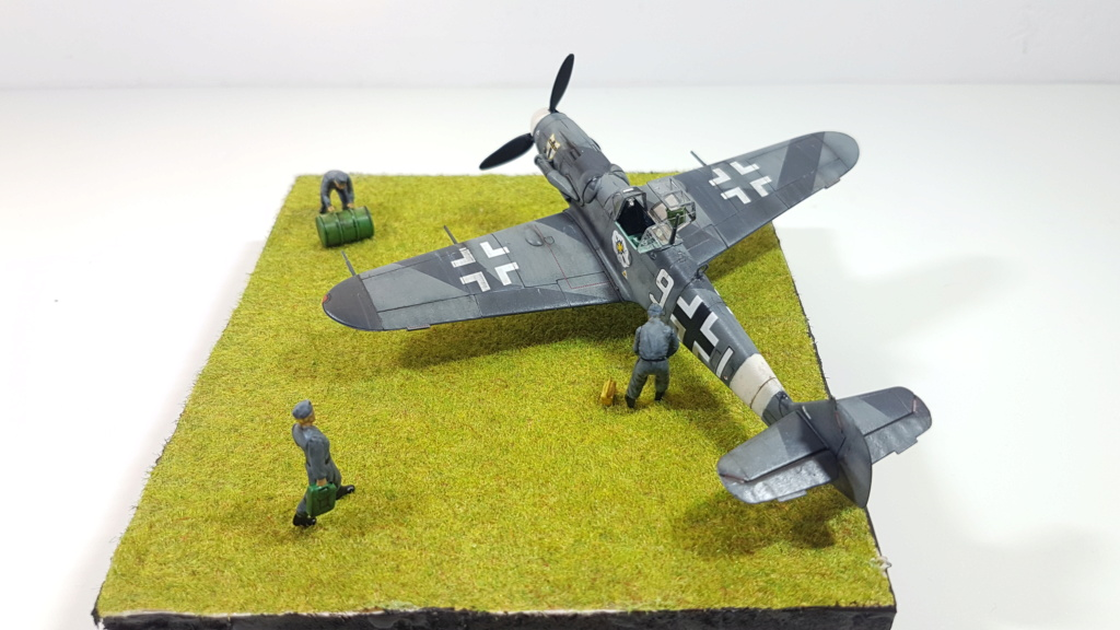 Messerschmitt BF 109-G6, Harbin H5 (Il 28 version chinoise), B25 Mitchell MkII - 1/72 20190310