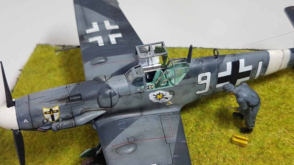 Messerschmitt BF 109-G6, Harbin H5 (Il 28 version chinoise), B25 Mitchell MkII - 1/72 20190312