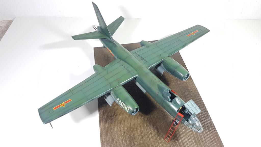 Messerschmitt BF 109-G6, Harbin H5 (Il 28 version chinoise), B25 Mitchell MkII - 1/72 20190313