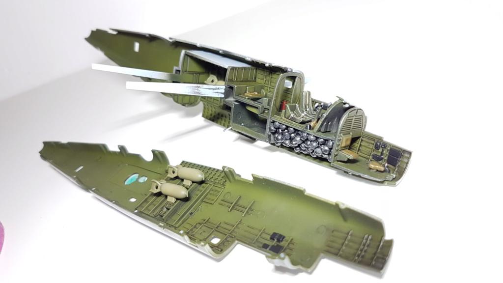 Messerschmitt BF 109-G6, Harbin H5 (Il 28 version chinoise), B25 Mitchell MkII - 1/72 20190315