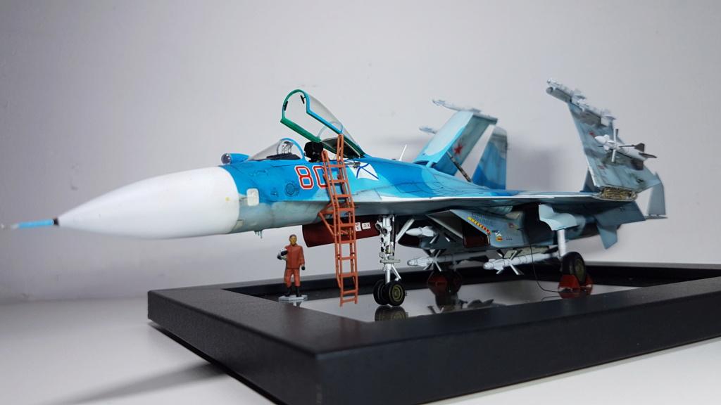 Sukhoi Su-33 Flanker-D 1/72 20190410