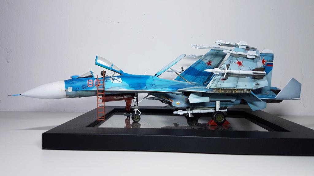 Sukhoi Su-33 Flanker-D 1/72 20190411