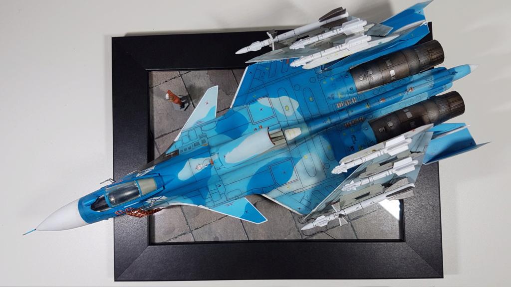 Sukhoi Su-33 Flanker-D 1/72 20190412