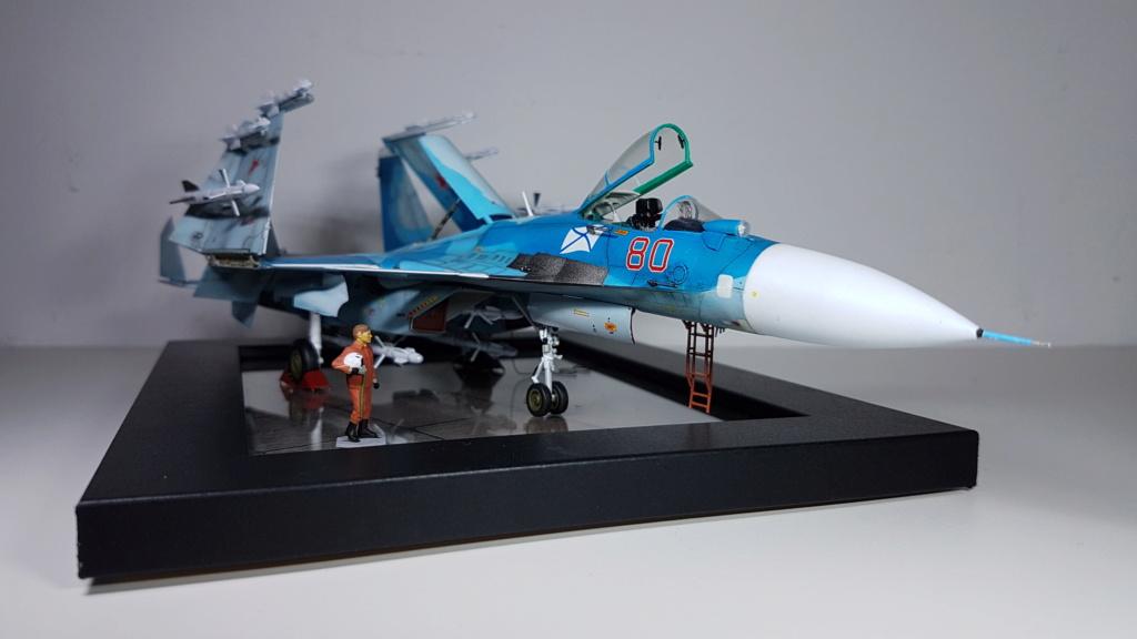 Sukhoi Su-33 Flanker-D 1/72 20190413
