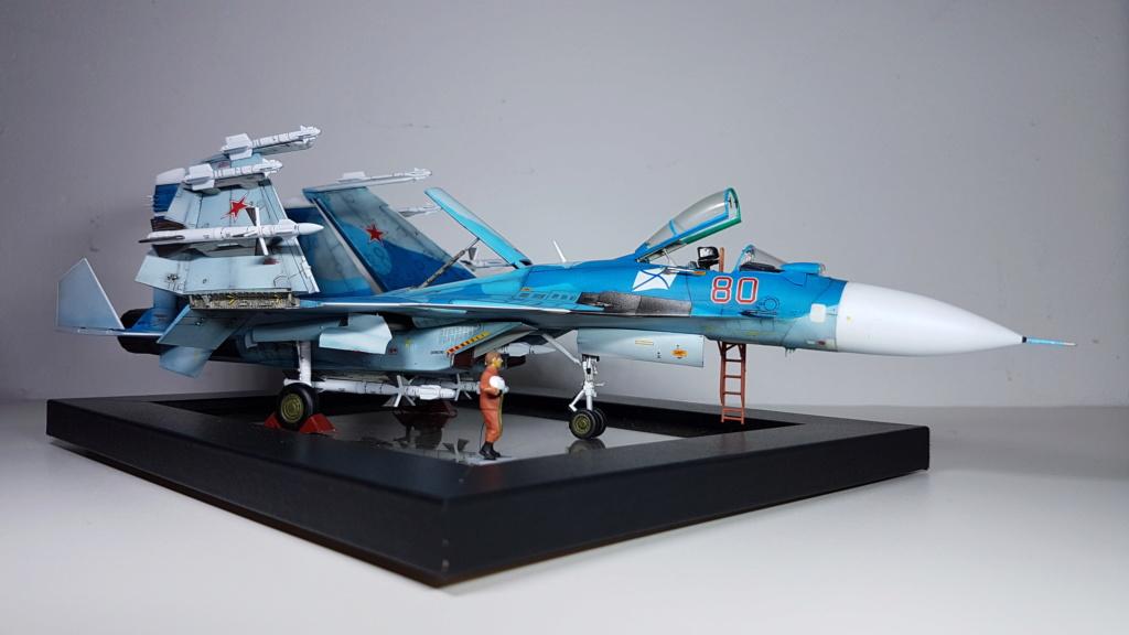 Sukhoi Su-33 Flanker-D 1/72 20190414