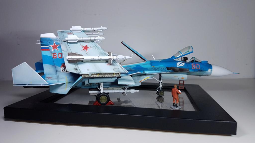 Sukhoi Su-33 Flanker-D 1/72 20190415