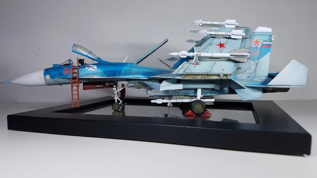 Sukhoi Su-33 Flanker-D 1/72 20190416