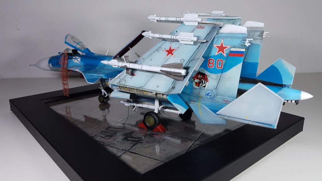Sukhoi Su-33 Flanker-D 1/72 20190417